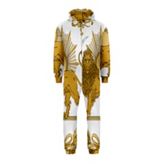 Lion & Sun Emblem Of Persia (iran) Hooded Jumpsuit (kids)