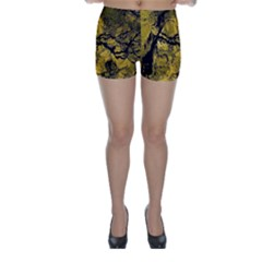 Colorful The Beautiful Of Traditional Art Indonesian Batik Pattern Skinny Shorts