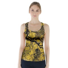 Colorful The Beautiful Of Traditional Art Indonesian Batik Pattern Racer Back Sports Top