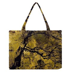 Colorful The Beautiful Of Traditional Art Indonesian Batik Pattern Medium Zipper Tote Bag
