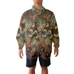 Colorful The Beautiful Of Art Indonesian Batik Pattern Wind Breaker (Kids)