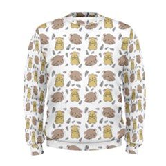 Cute Hamster Pattern Men s Sweatshirt