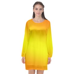 Sunny Annabellerockz 2017 Long Sleeve Chiffon Shift Dress