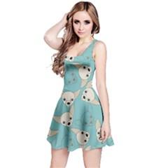 Mint Chiwawa Pet Reversible Sleeveless Dress