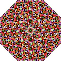Colorful Yummy Donuts Pattern Straight Umbrellas