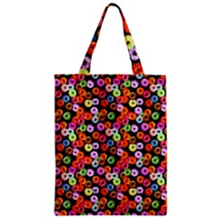Colorful Yummy Donuts Pattern Classic Tote Bag