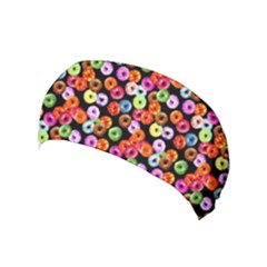 Colorful Yummy Donuts Pattern Yoga Headband