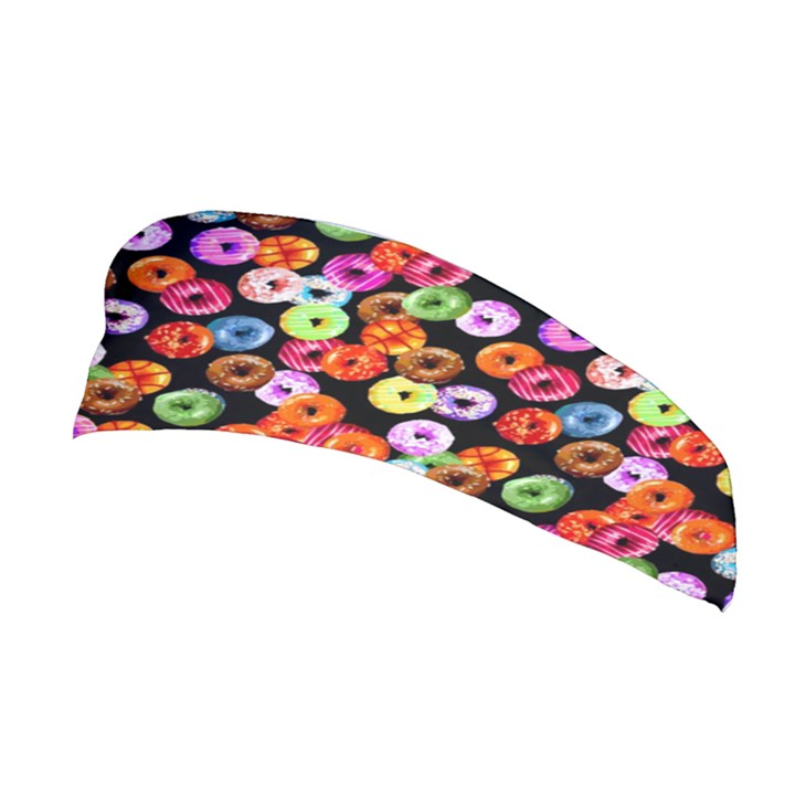 Colorful Yummy Donuts Pattern Stretchable Headband