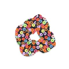 Colorful Yummy Donuts Pattern Velvet Scrunchie