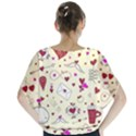 Valentinstag Love Hearts Pattern Red Yellow Blouse View2