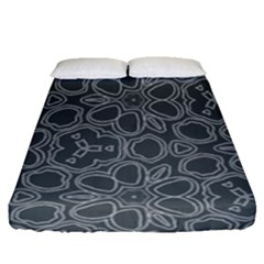 Floral pattern Fitted Sheet (Queen Size)