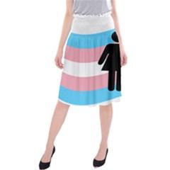 Transgender  Midi Beach Skirt