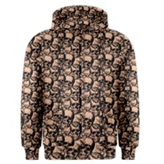 Skulls Pattern  Men s Zipper Hoodie