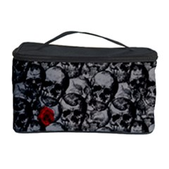 Skulls and roses pattern  Cosmetic Storage Case