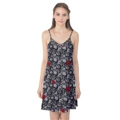 Skulls and roses pattern  Camis Nightgown