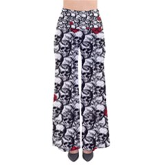 Skulls and roses pattern  Pants
