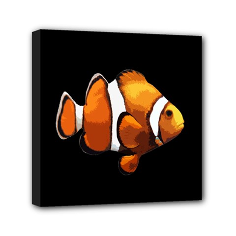 Clown fish Mini Canvas 6  x 6
