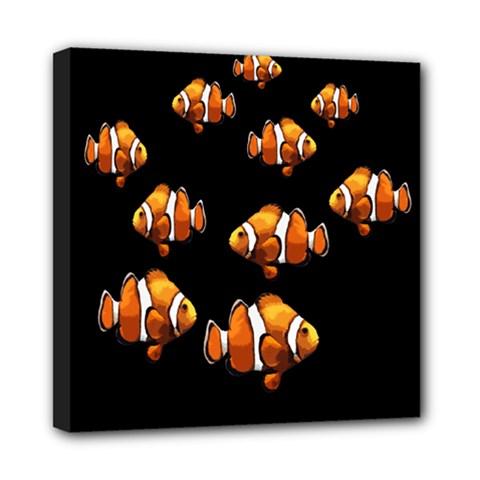 Clown fish Mini Canvas 8  x 8