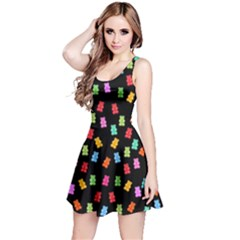 Candy pattern Reversible Sleeveless Dress