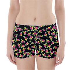 Candy pattern Boyleg Bikini Wrap Bottoms