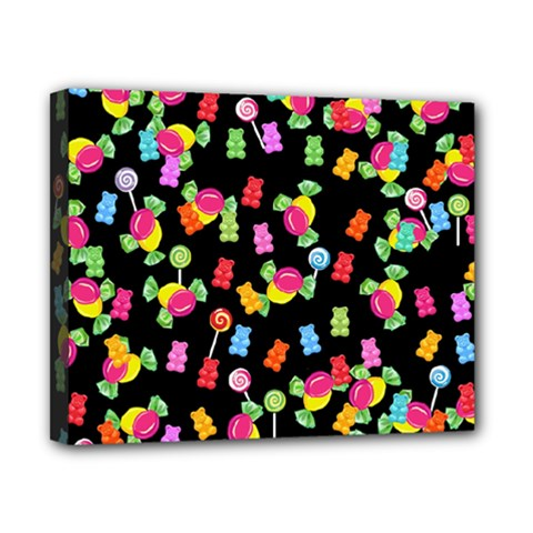 Candy pattern Canvas 10  x 8