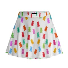 Candy pattern Mini Flare Skirt