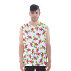 Candy Pattern Men s Basketball Tank Top