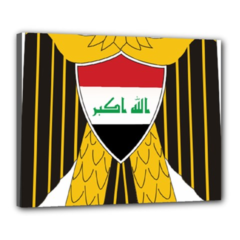 Coat of Arms of Iraq  Canvas 20  x 16