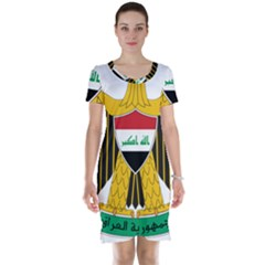 Coat of Arms of Iraq  Short Sleeve Nightdress