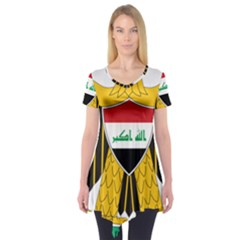Coat Of Arms Of Iraq  Short Sleeve Tunic