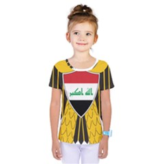 Coat of Arms of Iraq  Kids  One Piece Tee