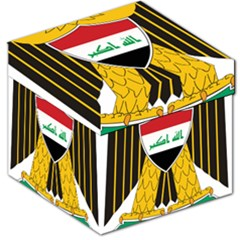 Coat of Arms of Iraq  Storage Stool 12