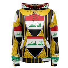 Coat of Arms of Iraq  Women s Pullover Hoodie