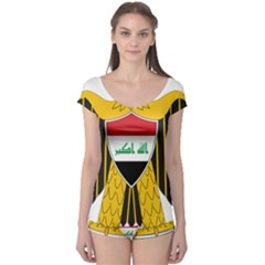 Coat of Arms of Iraq  Boyleg Leotard
