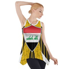 Coat of Arms of Iraq  Side Drop Tank Tunic