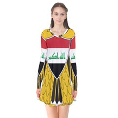 Coat of Arms of Iraq  Flare Dress