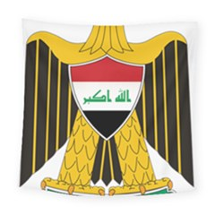 Coat of Arms of Iraq  Square Tapestry (Large)