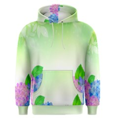 Fruit Flower Leaf Men s Pullover Hoodie