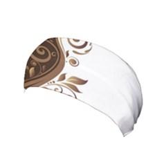 Leaf Brown Butterfly Yoga Headband