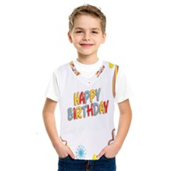 Happy Birthday Kids  Sportswear
