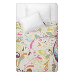 Colorful Seamless Floral Background Duvet Cover Double Side (Single Size)