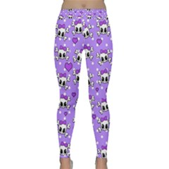 Cute Skulls  Classic Yoga Leggings