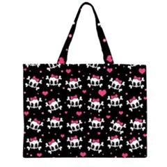 Cute skulls  Large Tote Bag
