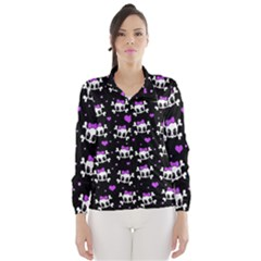 Cute skull Wind Breaker (Women)