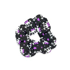 Cute Skull Velvet Scrunchie