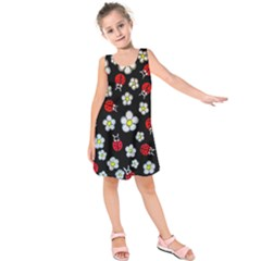 Sixties Flashback Kids  Sleeveless Dress
