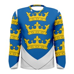 Lordship of Ireland Coat of Arms, 1177-1542 Men s Long Sleeve Tee