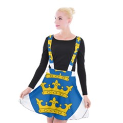 Lordship Of Ireland Coat Of Arms, 1177 1542 Suspender Skater Skirt