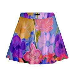 Spring Pastels Mini Flare Skirt