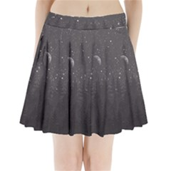 Night Full Star Pleated Mini Skirt